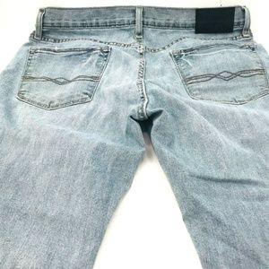 Levis Denizen 216 Jeans Size 34X32 Skinny Fit Ligh